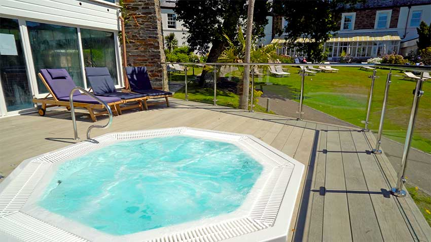 Hotel with Hot Tub Cornwall   Budock Vean Hotel